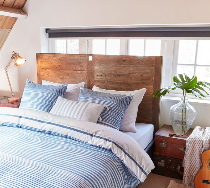 Rivièra Maison Traveler Cushion Light Blue