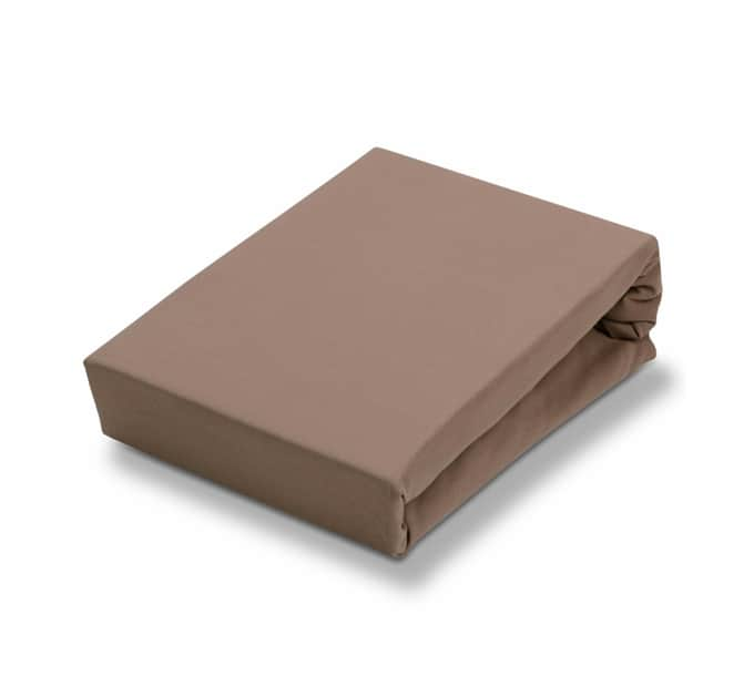 Jersey Supreme Stretch Topper Taupe Hoeslaken