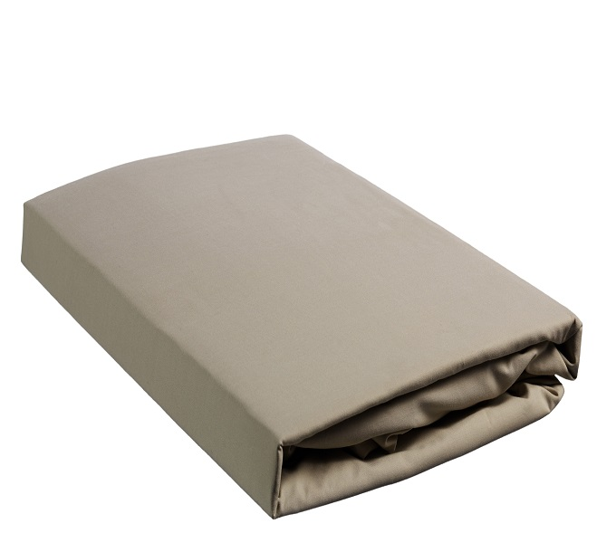 Beddinghouse Percale Hoeslaken Taupe