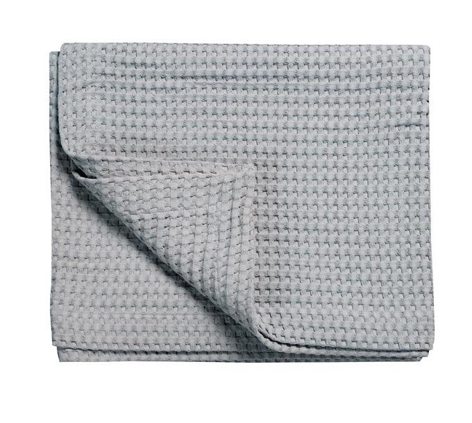 Vandyck Pique Wafeldeken Steel Grey