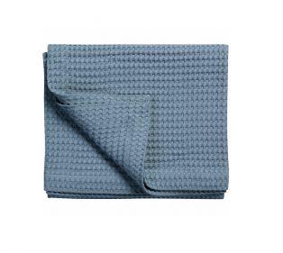 Vandyck Pique Wafeldeken Vintage Blue