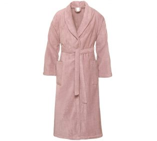 Prestige Badjas Velours Sepia Pink