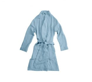 VT Wonen Cuddle Bathrobe Blue