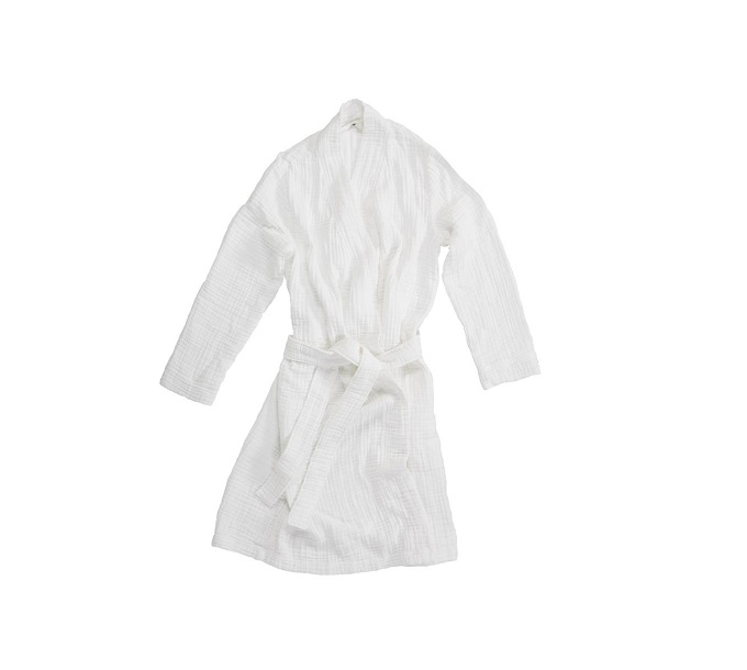 VT Wonen Cuddle Bathrobe White