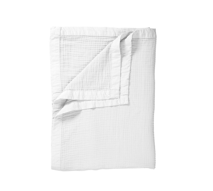 VT Wonen Cuddle Bedspread White