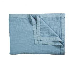VT Wonen Cuddle Bedspread Blue