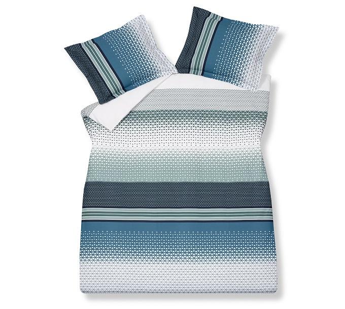 Vandyck Pattern Vintage Blue