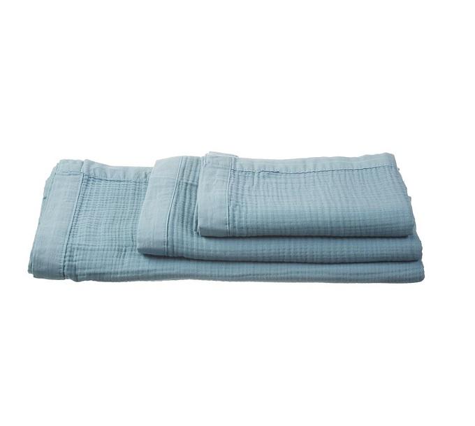VT Wonen Cuddle Towel Blue