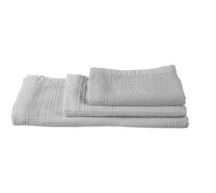 VT Wonen Cuddle Towel Light Grey