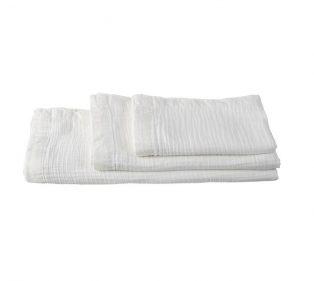 VT Wonen Cuddle Towel White