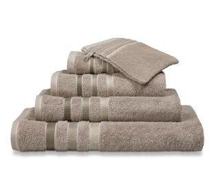 Vandijck Prestige Towels Lines Hazel