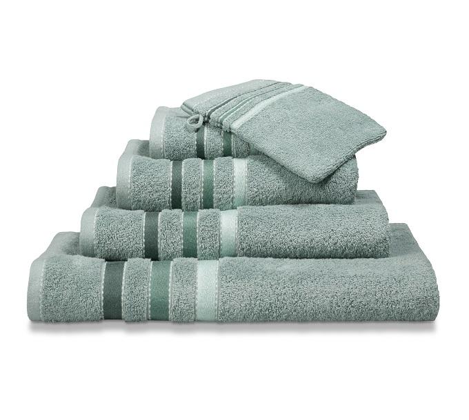 Vandijck Prestige Towels Lines Vintage Green