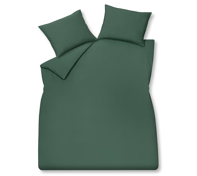 VanDyck Washed Cotton Dark Green