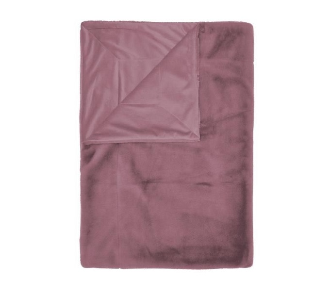 Essenza Furry Plaid Lilac