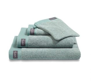 Vandyck Badgoed Home Towel Mouline Vintage Green