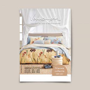 Vandyck nieuwe collectie folder Slaapkenner Lisse
